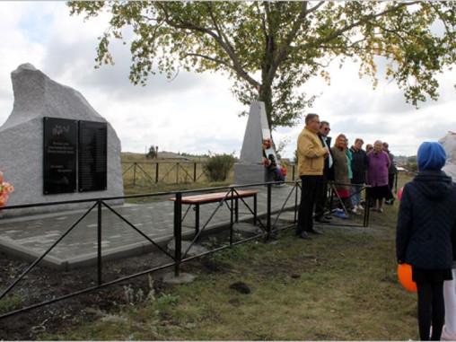 Памятник односельчанам - участникам Великой отечественной войны
