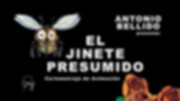 CARTEL EL JINETE PRESUMIDO HORIZONTAL WE
