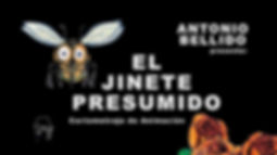 CARTEL EL JINETE PRESUMIDO HORIZONTAL WE