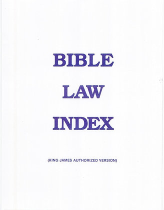 393 – BIBLE LAW INDEX