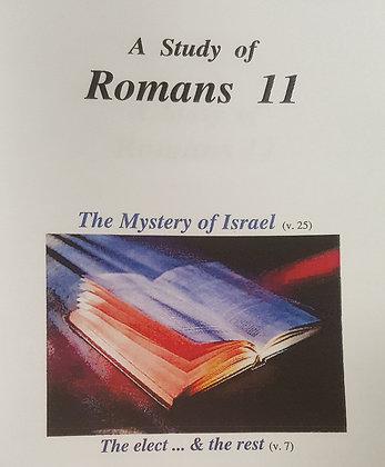 848 – A STUDY OF ROMANS 11