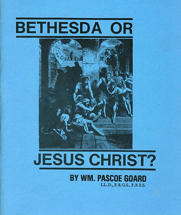373 – BETHESDA OR JESUS CHRIST
