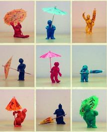 Umbrella bunch