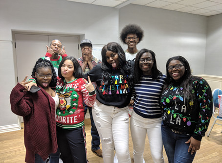 Rise Project 2018 Ugly Sweater Party