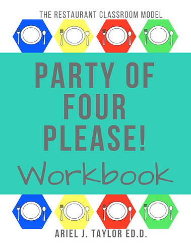 Party of Four Please Workbook