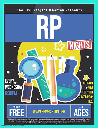RP STEM Nights - Made with PosterMyWall