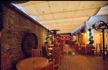 Rooftop Bar on Ground Floor