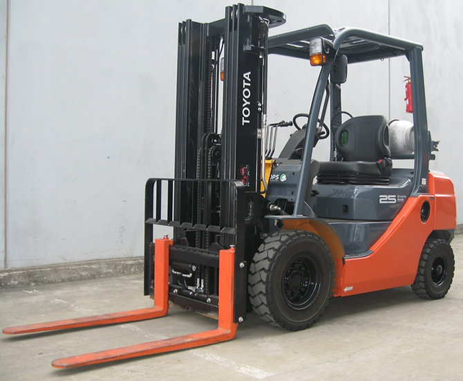 TOYOTA 32-8FG25 CONTAINER MAST FORKLIFT