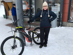 WINTER RIDING TIPS FOR E-BIKERS