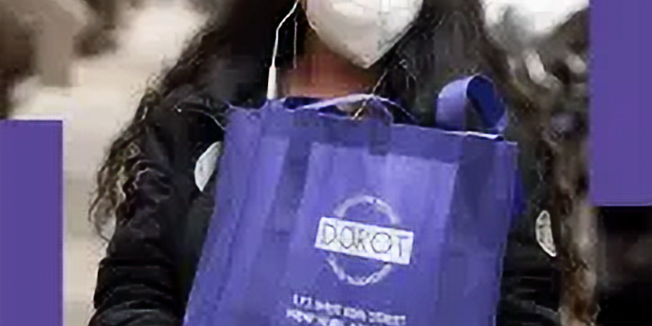 DOROT's Winter Package Delivery