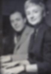 Blossom Dearie and husband Bobby Jaspar
