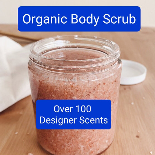 Sugar or Salt Body Scrub