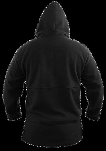 Black Bush Fleece Hood
