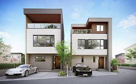 3階建ての家 スカイバルコニーで叶えるラグジュアリーリゾートな暮らし デザイナーズハウス おしゃれ かっこいい家 駅近 ハイデザイン