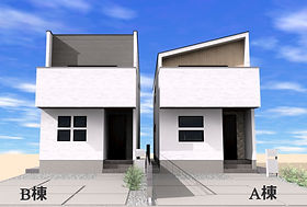 Resort Season南町1期 ジョイホームのデザイン分譲住宅2021年4月完成予定!前橋駅まで徒歩12分!けやきウォーク周辺の豊かな立地! プライベート感と開放感のある2階リビングと、勾配天井。広々スカイバルコニーのデザイン分譲住宅!