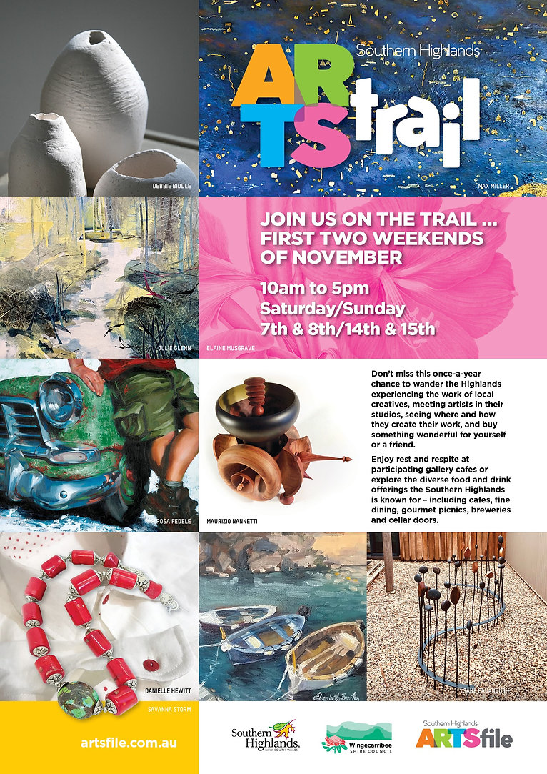 Art Trail 2020 Email and Prinatble Flyer