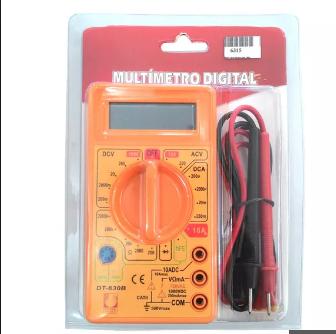 Multímetro Digital Pwcable 750V