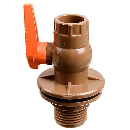 Adaptador de Caixa D'água Com Registro 25mm