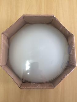 PLAFON CLEAN 25CM BIV CL725PBN - LLUM