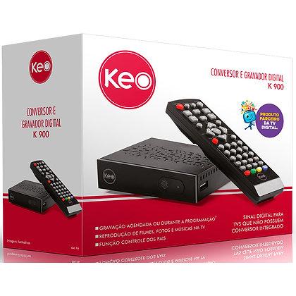 Conversor Digital c/ Gravador K900 - Keo