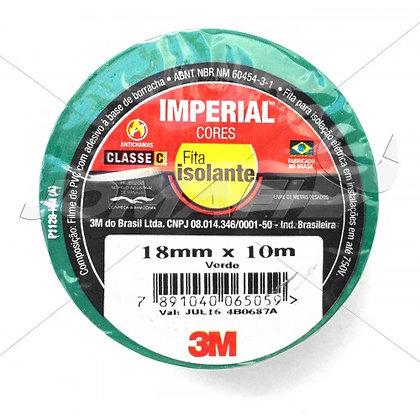 Fita Isolante Verde 10MT 3M Imperial