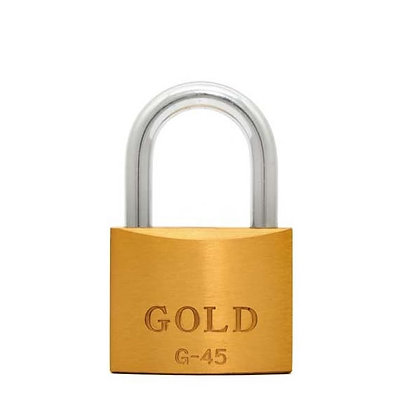 Cadeado 45mm Gold