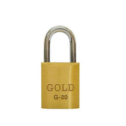 Cadeado 20mm Gold