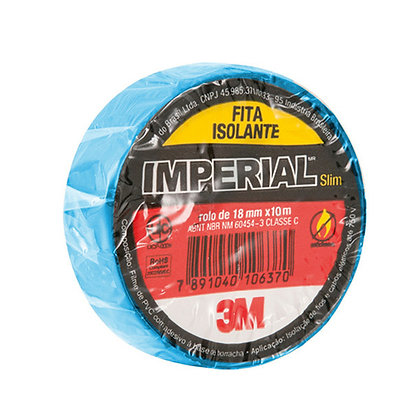Fita Isolante Azul 10MT 3M Imperial