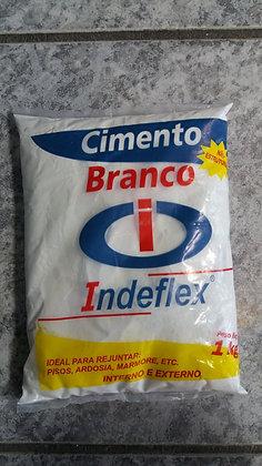 CIMENTO BRANCO 1KG - INDEFLEX