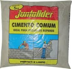 CIMENTO COMUM 5KG - JUNTALIDER