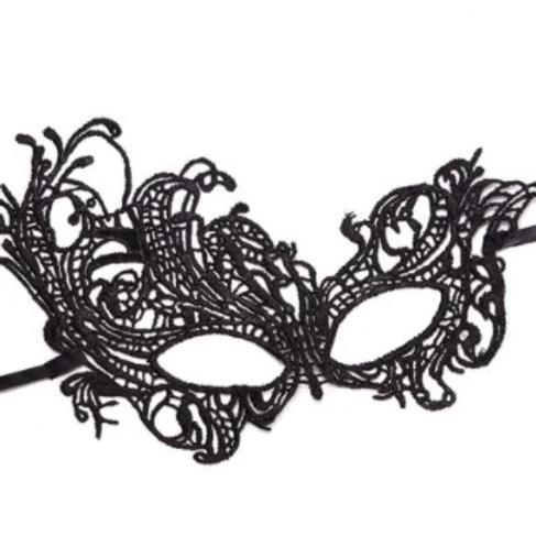 Guipure Mask