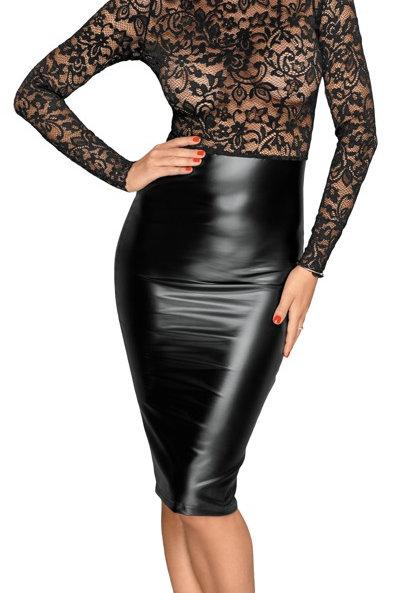 Lace Mix Midi Dress by Noir Handmade