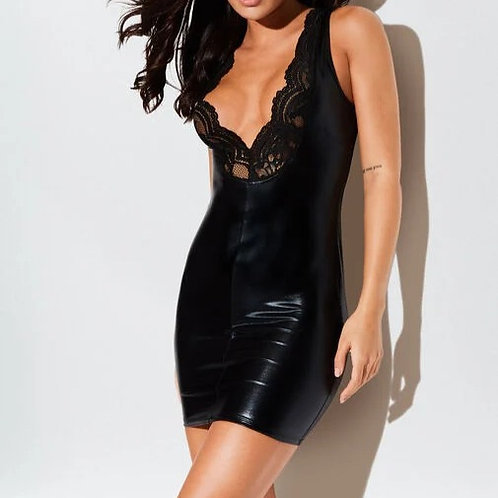 The Luscious Wet Look Dress