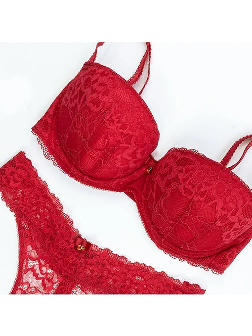 Sexy Lace Balcony Red 38G