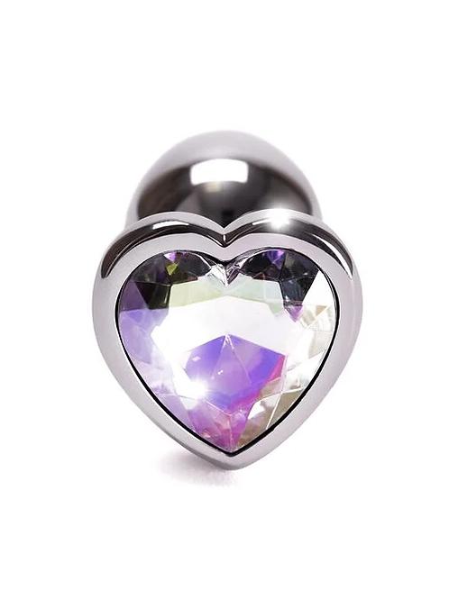 Small Heart Shaped Metal Plug