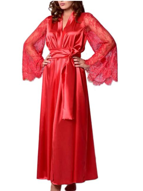 Lace Kimono Robe (Ex Sample)
