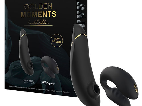 Golden Moments Collection ft Womanizer and We Vibe