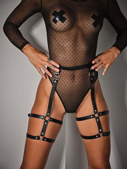 The Lucky Night Sheer Crotchless Body