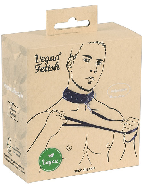 Collar and Leash by Vegan Fetish