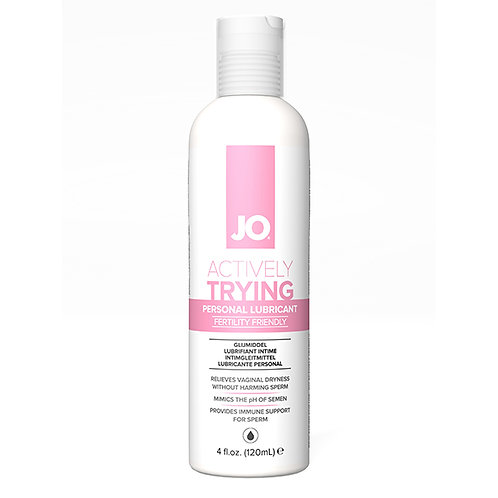 Actively Trying Lubricant by System Jo