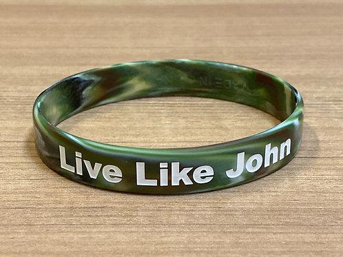 Live Like John Wristband