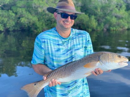 Redfish & Giant Grouper