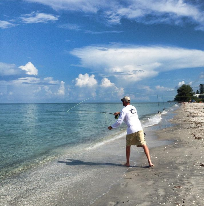 Fly Fishing On Englewood Beaches