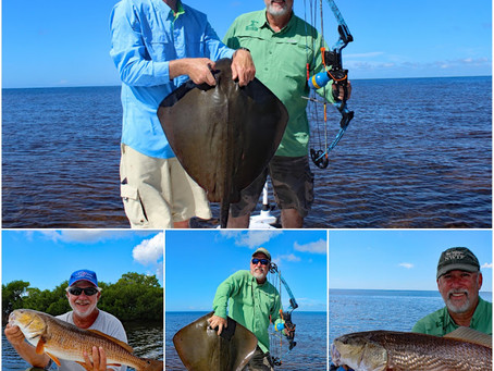 Bow Fishing & Redfish