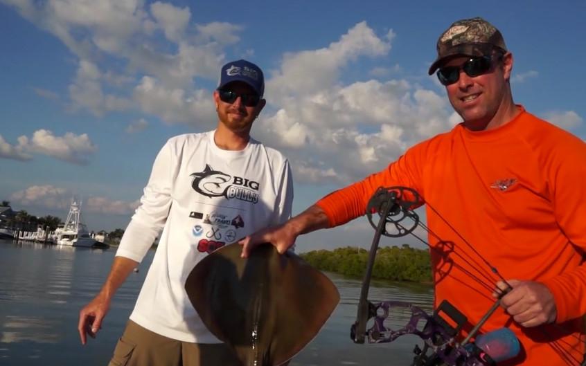 Bowfishing Sting ray