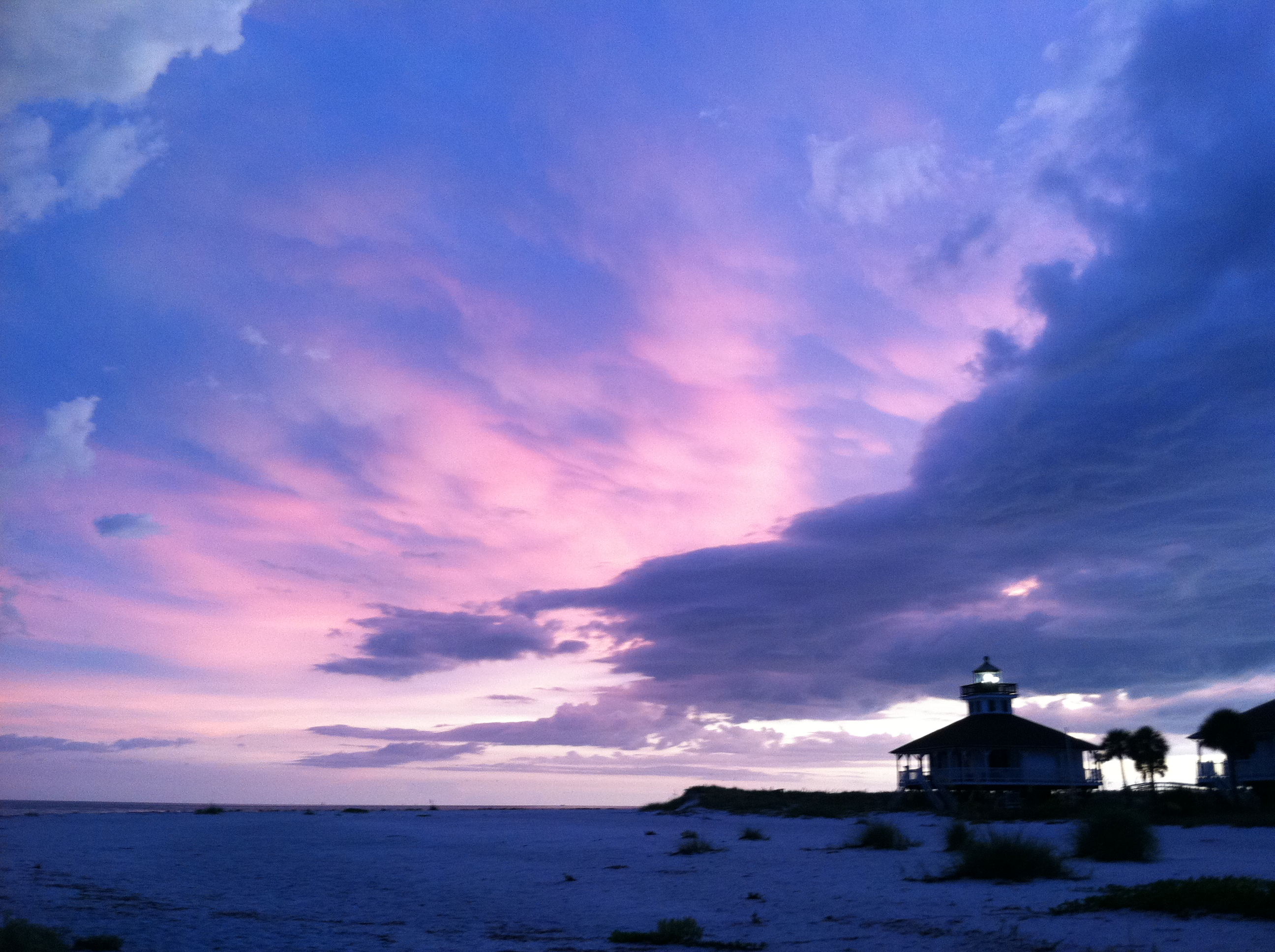 Sunset in Boca Grande Lighthouse