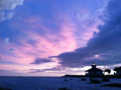 Sunset in Boca Grande Lighthouse