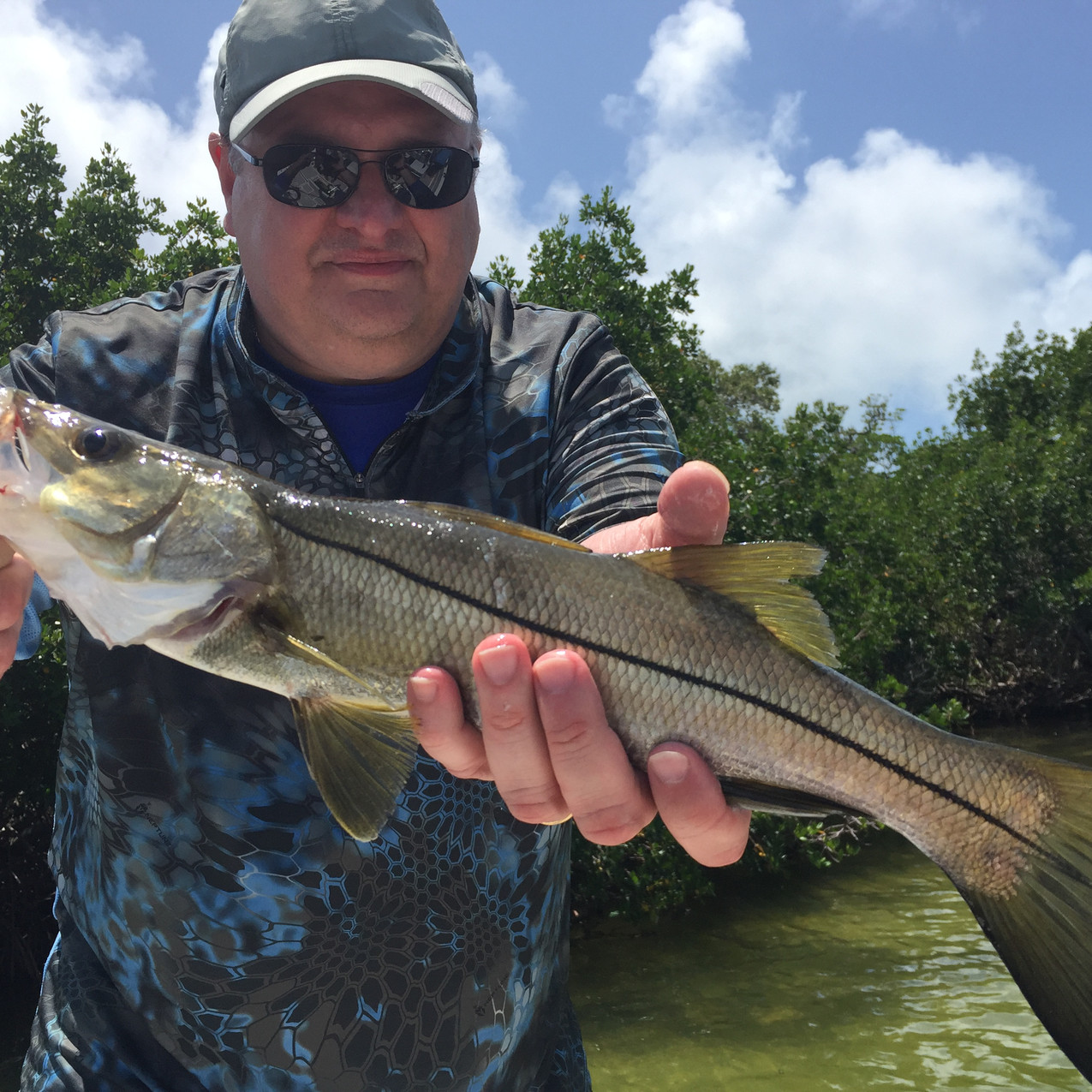 Ashley and his snook