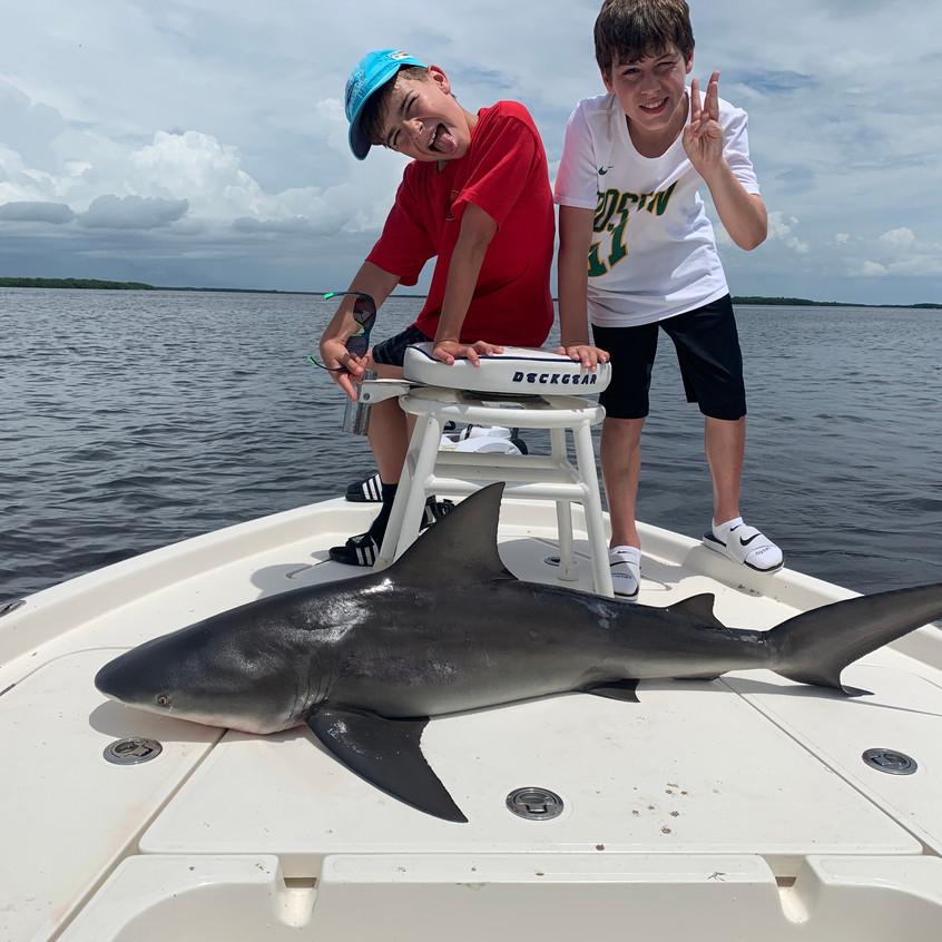 Shark fishing Florida