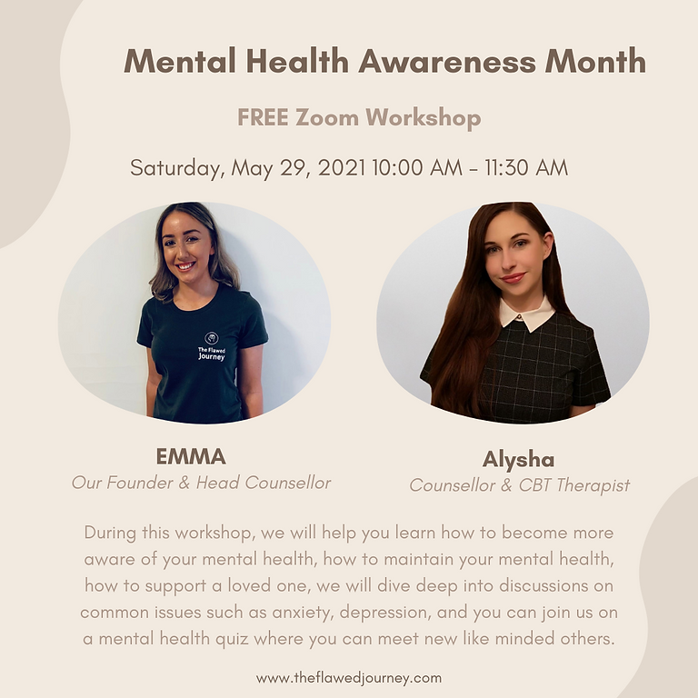 Mental Health Awareness: FREE Zoom Workshop